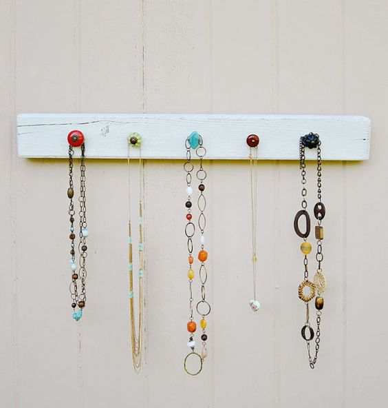 On Etsy: Jewelry Holder with Knobs