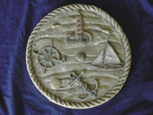 Lighthouse stepping stone mold
