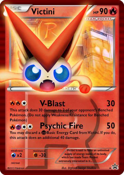Mega Victini Card Google Search Pokemon Cards