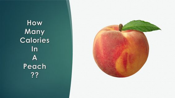 Healthwise: Diet Calories, How Many Calories in a Peach? Calories Intake & Healthy Weight Loss by EnViata http://youtu.be/obrzNrIkAFc