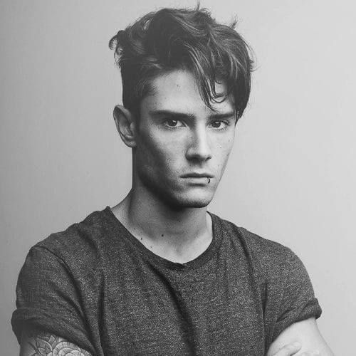 Men S Hairstyles Through The Ages 5 Iconic Styles For Each Decade Men Hairstyles World In 2020 Fade Haircut Styles Top Hairstyles For Men Greaser Hair
