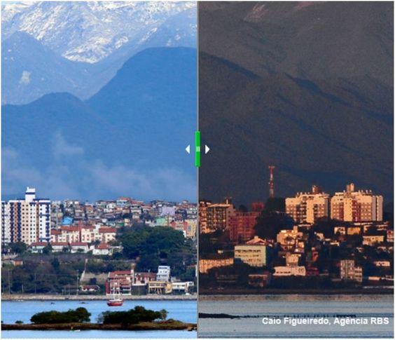 A mudança na paisagem de Florianópolis