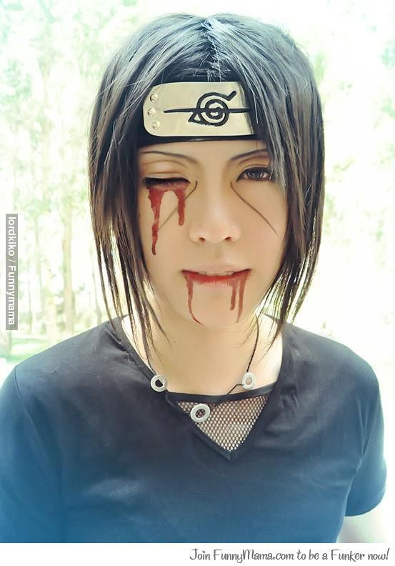 Itachi, Naruto. (This is the best Itachi cosplay I've ever seen *-*)