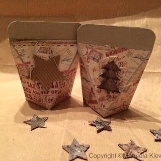 Manu´s Hobbytreff: Weihnachtliche Verpackungen