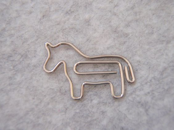 Horsey Paper Clip by WelcomeToMyShop on Etsy, $4.50