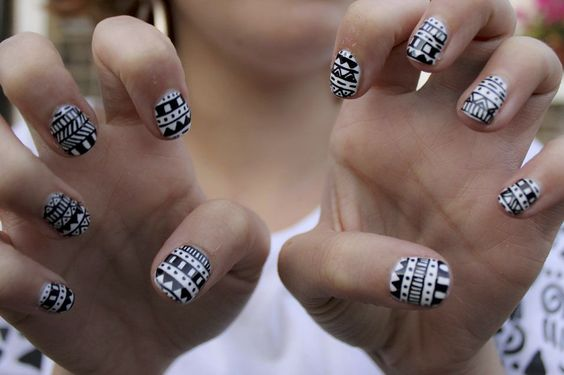 Black and white - I want this!