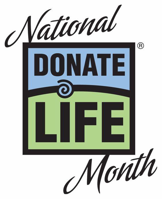 April is Organ Donation Awareness Month! #recycleyourparts #donateLIFE #beahero #save8
