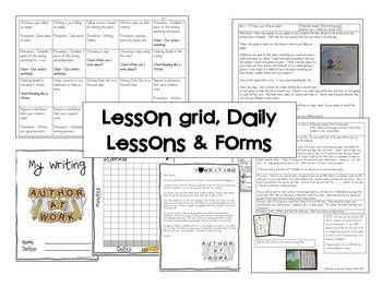 Writing Through the Year Unit 1 {Aligned with Common Core}This is the first unit in a series of monthly units that will walk you through the first month of writer's workshop.     Included:    Writer's Workshop Framework Guide  Management ideas  Monthly overview  Mentor Text Lists  Detailed daily writer's workshop lessons  Anchor charts   Scoring Rubrics  and additional forms