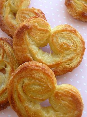 French Palmiers. I want to try to make these for Valentine's Day breakfast