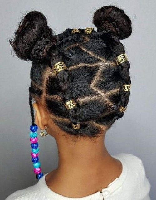 Black Kids Hairstyles With Beads Black Kids Hairstyles Kids