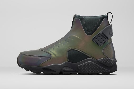 Nike officially unveils its mid-top Huarache.