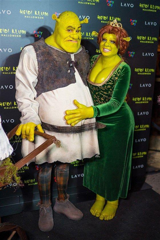 Heidi Klum 2020 Shrek Halloween Costume Images Heidi Klum outdid herself again with this year's Halloween costume