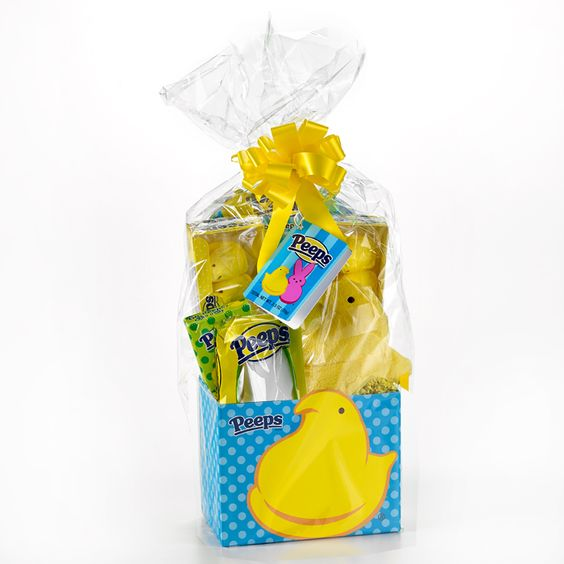 Chicks dig it! Can't go wrong with this gift basket this Easter!:
