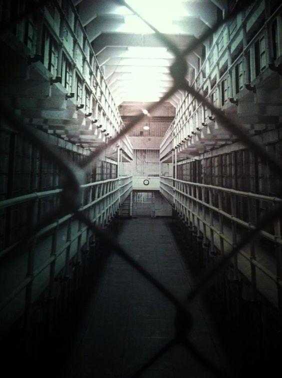 Increíble cárcel alcatraz.