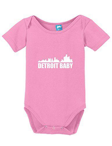 Detroit Baby Onesie Funny Bodysuit Baby Romper Pink 0-3 Month Sod Uniforms http://www.amazon.com/dp/B01C60BL3Q/ref=cm_sw_r_pi_dp_b1obxb06MC922