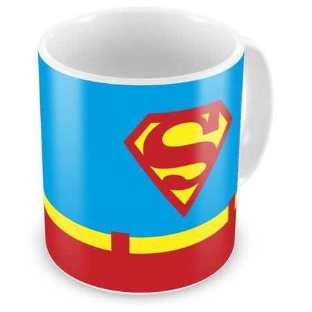 Caneca Personalizada DC Comics Superman Logo: