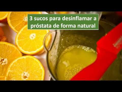 3 sucos para desinflamar la prostata de forma natural