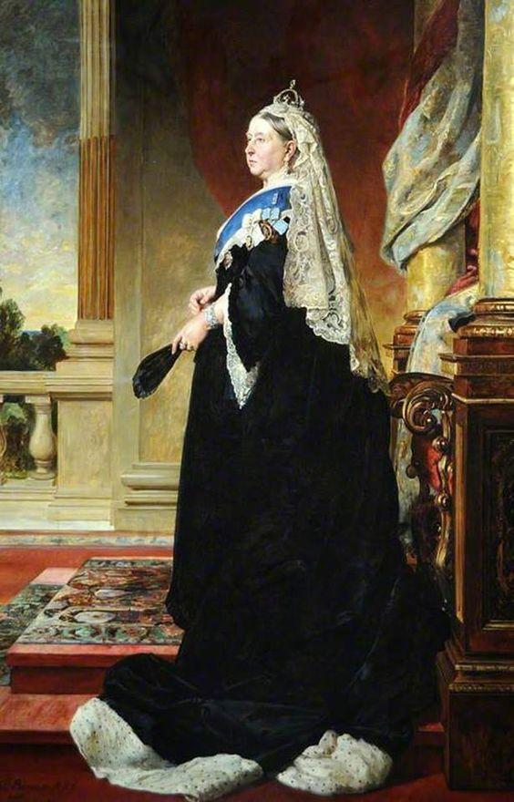 la reine victoria ( 1819-1901 ) ( après heinrich von