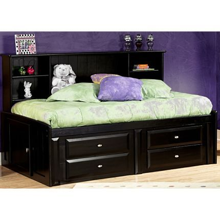 Laguna Collection Trendwood Black Full Roomsaver Bed