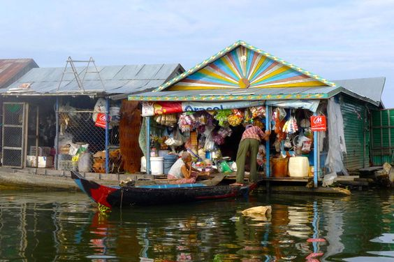 A day in the life  Tonle Sap Lake, Siem Reap, Cambodia