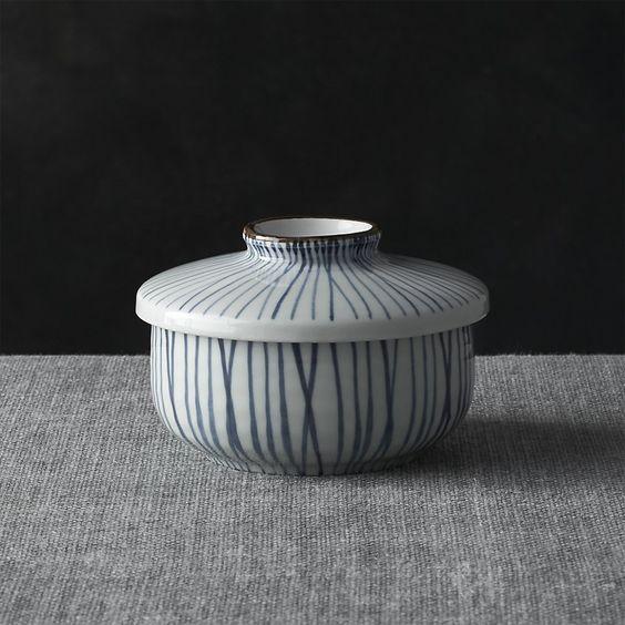 Katori Covered Bowl | Crate and Barrel