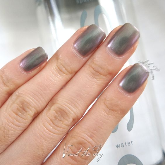 Face of Australia - Dark Side - Magneto - Nail Swatch - http://nailtheday.com/2015/01/face-australia-dark-side-magneto-nail-swatch/