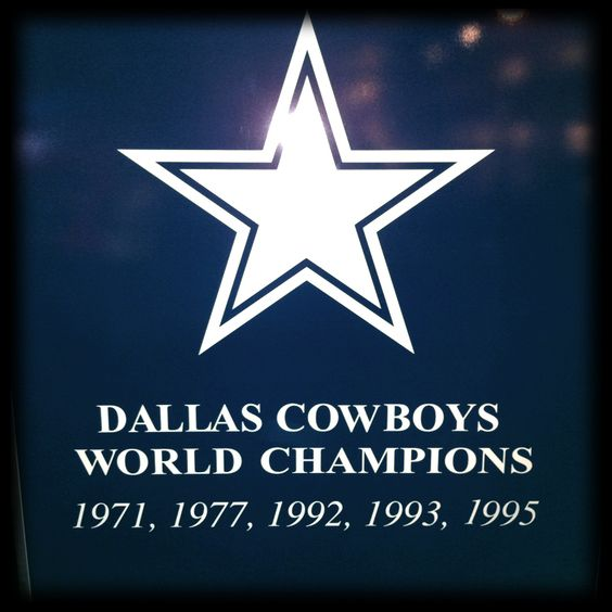 Dallas Cowboys 5x World Champs!