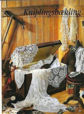 Lindas Peças Decorativas Em Crochê