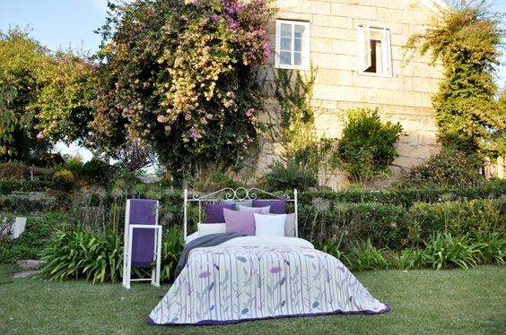 Un dormitorio perfecto para los amantes de la naturaleza