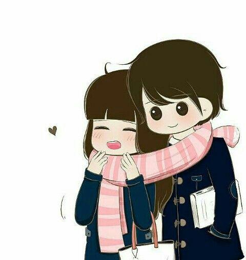Cute Love Couple Images Cartoon