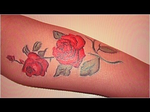 Pinterest the world s catalog of ideas for How to make a fake tattoo look real