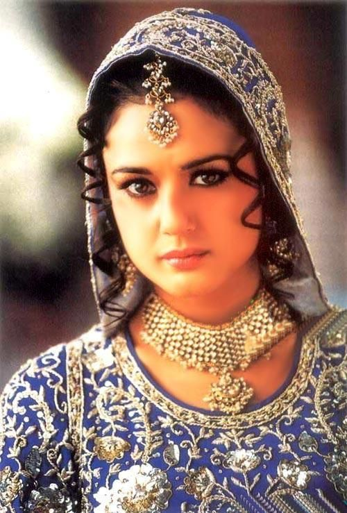 preity zinta in bridal dress