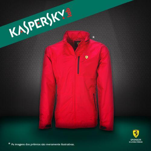 Quer ganhar uma jaqueta oficial da Ferrari? É só participar da Kaspersky Social Race!