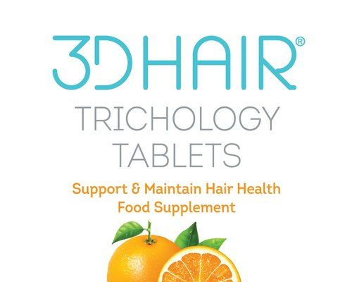3d Hair Loss Supplement 3d Trichology Tablets Support And Maintain Hair Health With Crutial Ingredients Hair Health Supplements For Hair Loss Hair Pigmentation