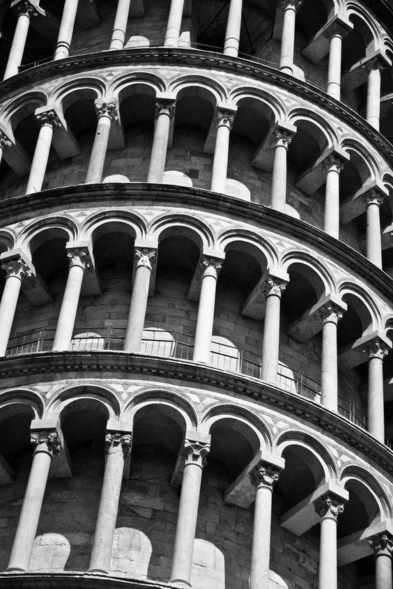 Pisa, Italy, Architectural Detail