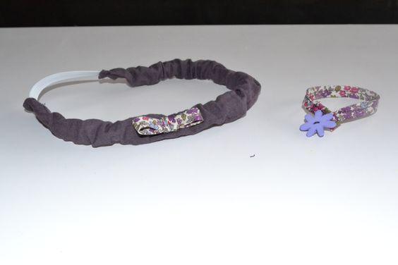 petits accessoires assortis à la robe trapèze papillons