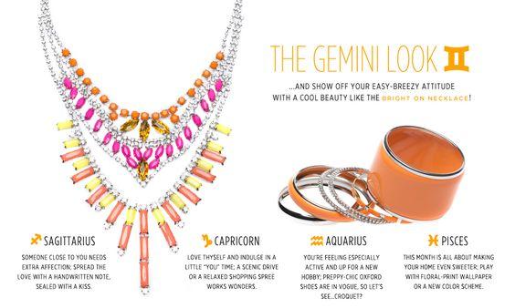 The Gemini jewelry-- Bright On