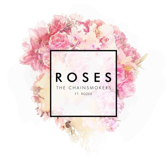 The Chainsmokers, Rozes – Roses (single cover art)