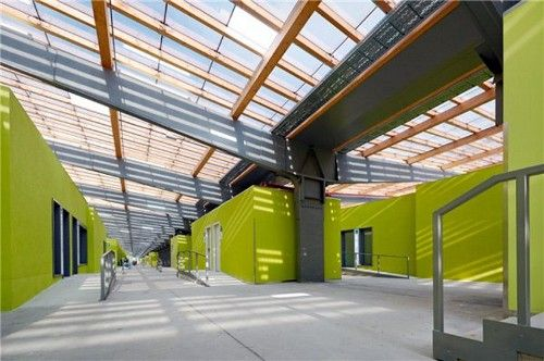 Modern Architecture Schools school in wolf hagen, germany. the energy efficient, modern school