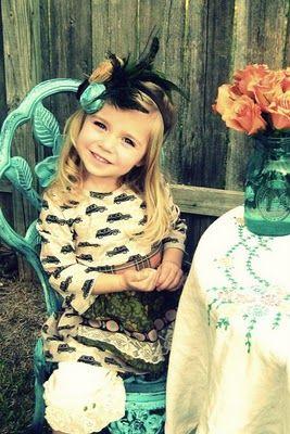 little vintage girl