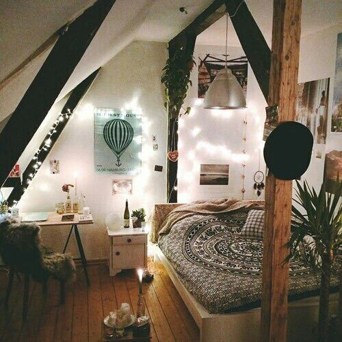 Immagine tramite We Heart It bedroom christmas decor decoration goals   Pinterest The world 39 s. Nature Bedroom