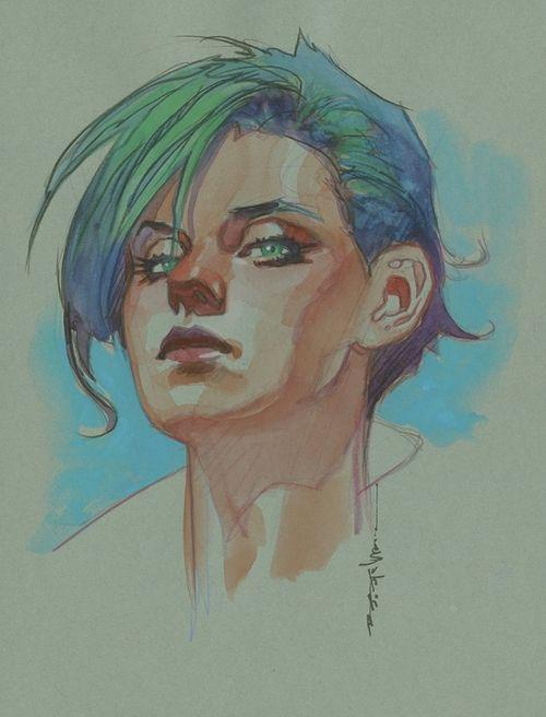 Alana by Brian Stelfreeze