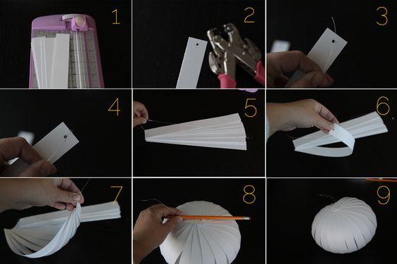 fácil calabazas de papel con dibujos {niños pueden hacerlo!} - itsalwaysautumn - Siempre es otoño
