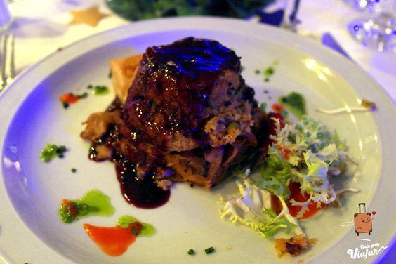 Plato Principal vegetariano fiesta de fin de año en Rosario