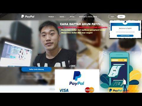 Cara Daftar Akun Paypal Penghasil Dollar Dari Aplikasi Luar Negeri Youtube Youtube Kata Kata Penyemangat Motivasi