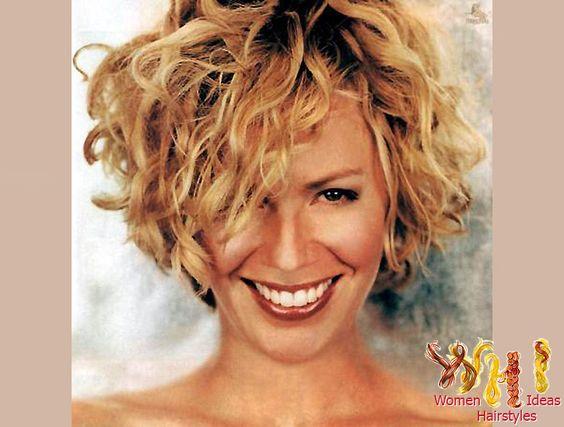 short curly haircut : o-Haircare