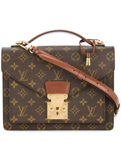 Louis Vuitton Monceau 26 2 Way Business Handbag Farfetch Louis Vuitton Louis Vuitton Handbags Louis Vuitton Bag