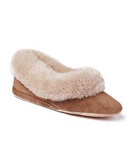 Ladies Sheepskin Slippers Seaforth  #Shoes #Footwear #Autumn #Morlands #Slippers #Cosy #Sheepskin #Vintage #Style #Glastonbury #Warm