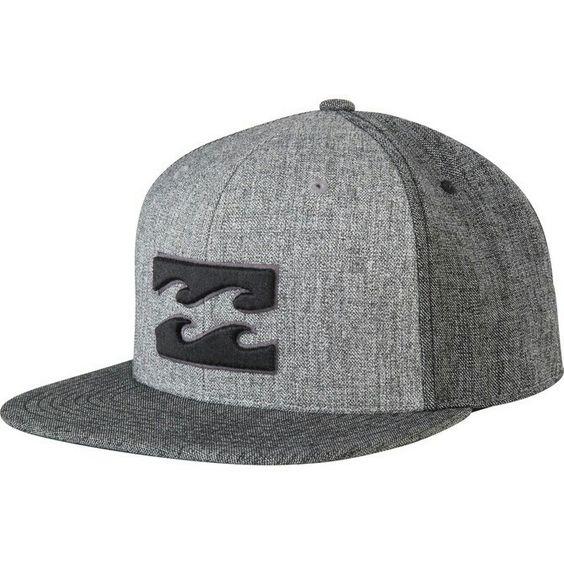 Gray snapback