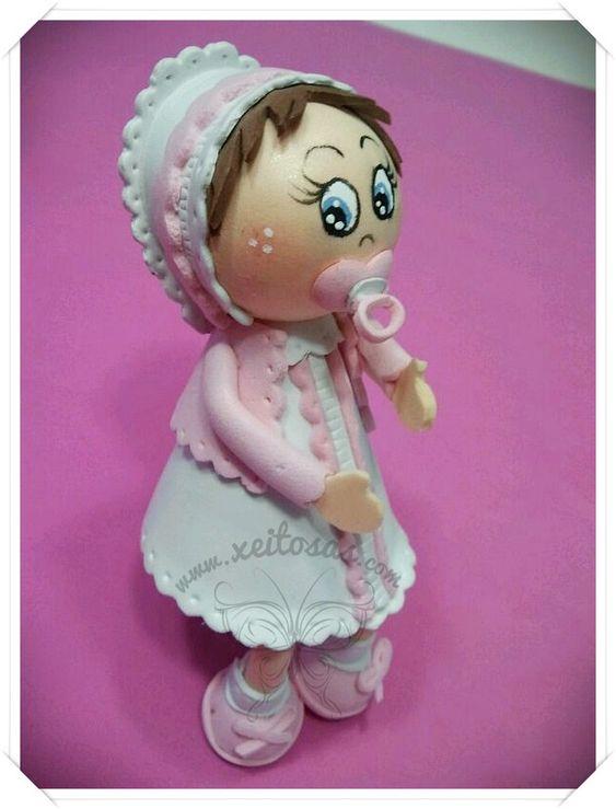 Fofucha bebe bautizo | mis muñecas | Pinterest | Bebe, Fotos y Muñecas